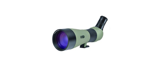 Meopta Meostar S2 82 HD angled-view spotting scope + 20-70X zoom eyepiece