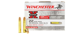 22 WMR Winchester FMJ (150 шт.)